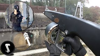 CHEATER gets HAMMERED by $1000 Full-Auto AA-12 (instant karma)