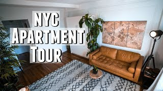 NYC Apartment Tour!! 300 sq. foot Minimalist Studio