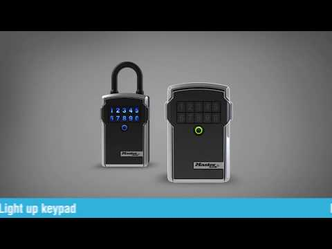 Screen capture of Master Lock Bluetooth<sup>&reg;</sup> Lock Boxes Small Business and Consumer