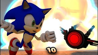 SONIC IN MINECRAFT 10! REALISTIC 3D ANIMATION
