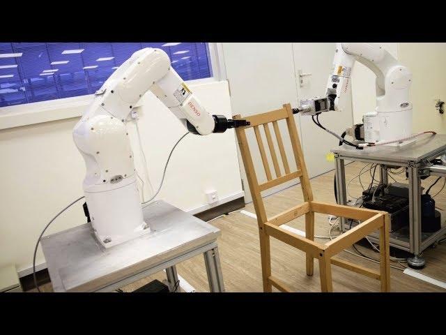 روبوت يجمّع كرسيا من إيكيا بالكامل خلال دقائق