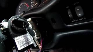 Override Stuck Ignition Key and Gear Shifter On A Pontiac Grand Prix
