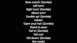 Zombie Fela kuti with lyrics
