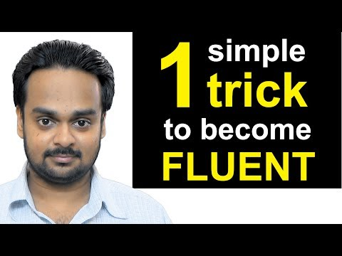 1 Simple Trick to Become Fluent in English - the JAM Technique