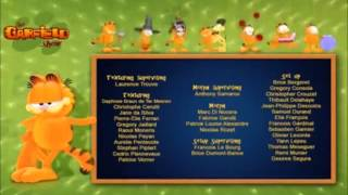 The Garfield Show End Credits HD Version Background Change