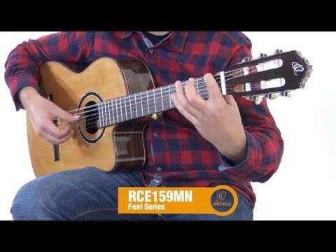 ORTEGA RCE159MN-L Levoruká elektroakustická klasická kytara