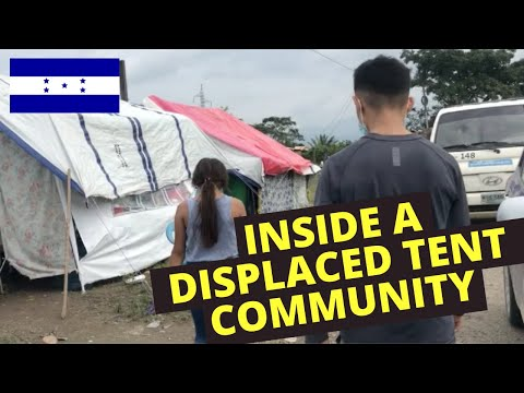 Entering Honduran tent community to search for missing 10yo girl
