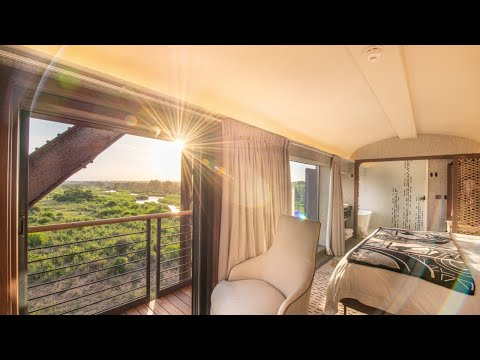 Kruger Shalati - The Train on the Bridge in the Kruger National Park