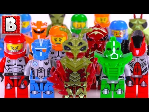 Every LEGO Galaxy Squad Minifigure EVER MADE!!! | Collection Review
