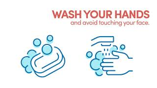 Opening panel: wash your hands.