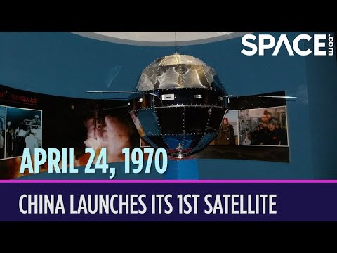 OTD in Space – April 24: China Launches Its 1st Satellite