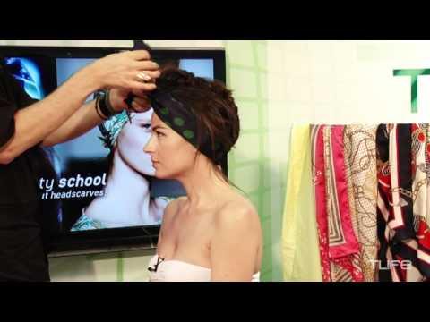 3 stylish τρόποι να φορέσεις μαντήλια στα μαλλιά