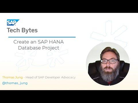Tutorial - Create SAP HANA Database Project