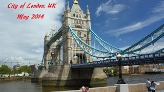 preview picture of video 'London, UK, Visitor Tour, May 2014, HD 1080p'