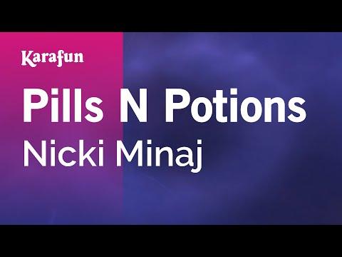 Pills N Potions - Nicki Minaj | Karaoke Version | KaraFun