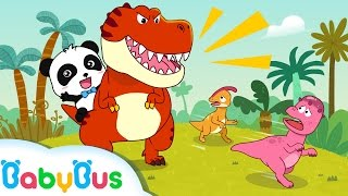 ❤ Tyrannosaurus-Rex | Sajak Kanak-kanak | Lagu Anak-anak | BabyBus
