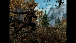 The Witcher - A Skyrim Character - MiniGuide and Machinima