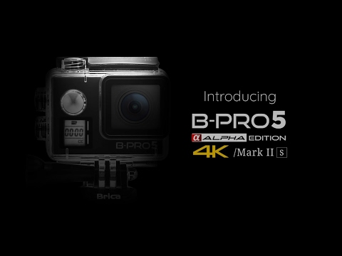 Brica B-PRO5 Alpha Edition 4K Mark II [s] (AE2S) - Front LCD - Microphone Port