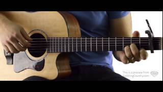 The First Noel - Guitar Lesson and Tutorial - Josh Turner
