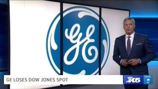 General Electric Removed From Dow Jones Top 30