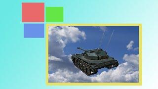 Баги в World of Tanks: летающий танк