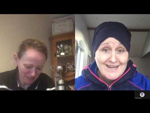 Scotstown GAA 's  Bernie Sherry is interviewed by Mairead Boyle on International Women's Day