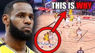 Whats WRONG With LeBron James In The NBA Restart? (Ft. Lakers, Defense, & Pain)