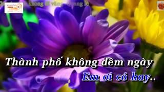 [Karaoke] Chuyện Tình Không Dĩ Vãng   Quang Lê (full Beat)