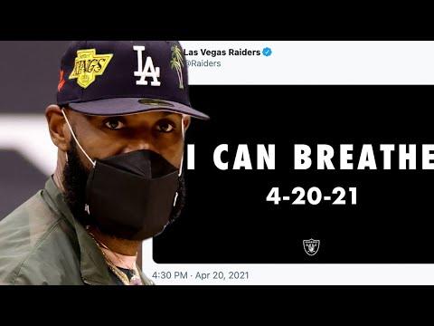 LeBron James, Bradley Beal BLAST Las Vegas Raiders For Horrifically Tone Deaf Derek Chauvin Tweet