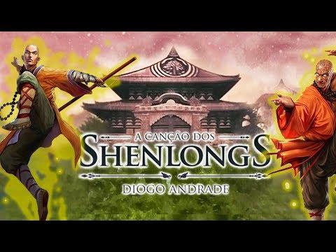 O LIVRO REI DAS AVALIAÇÕES NA AMAZON   A Canção dos Shenlongs (Diogo Andrade)