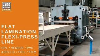Flat Lamination Press