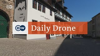 #DailyDrone: Following Martin Luther | DW English