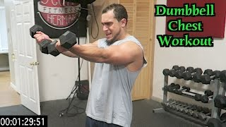 Intense 5 Minute Dumbbell Chest Workout by Anabolic Aliens