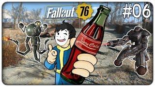 A CACCIA DI NUKA COLA E FUGA DALLA CITTÀ DEI ROBOT   Fallout 76 - ep. 06 [ITA]