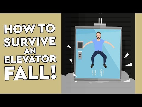 Does Jumping Really Help You Survive an Elevator Fall?