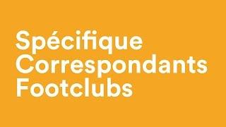 Spécifiques correspondants footclubs