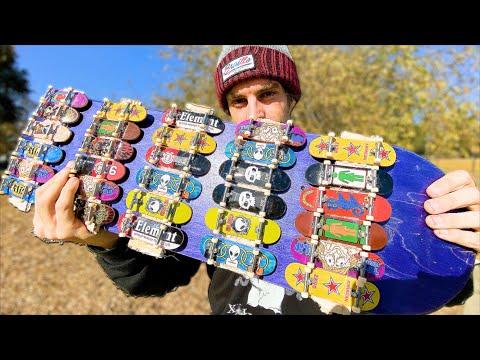 Смотреть онлайн видео The Tech Deck Skateboard Skate