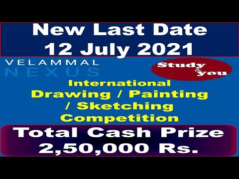free online drawing competition  by Velammal Nexus