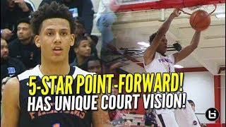5-Star Point Forward has CRAZY VISION! 6'7 Jalen Johnson Shows Out at Swish N Dish!