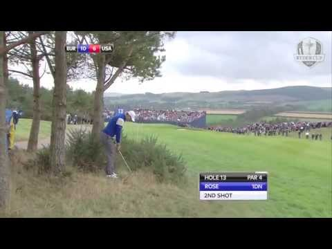 Justin Rose – a bit of Seve Ballesteros at the 2014 Ryder Cup
