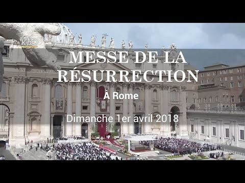 Messe de la Résurrection à Rome