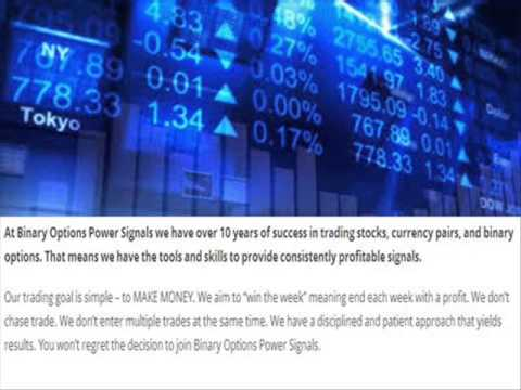Binary options experts signals
