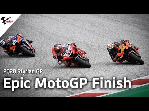 激しすぎるラストラップのバトル!MotoGP スティリアGP 優勝を狙うライダーの激しすぎるラストラップ動画
