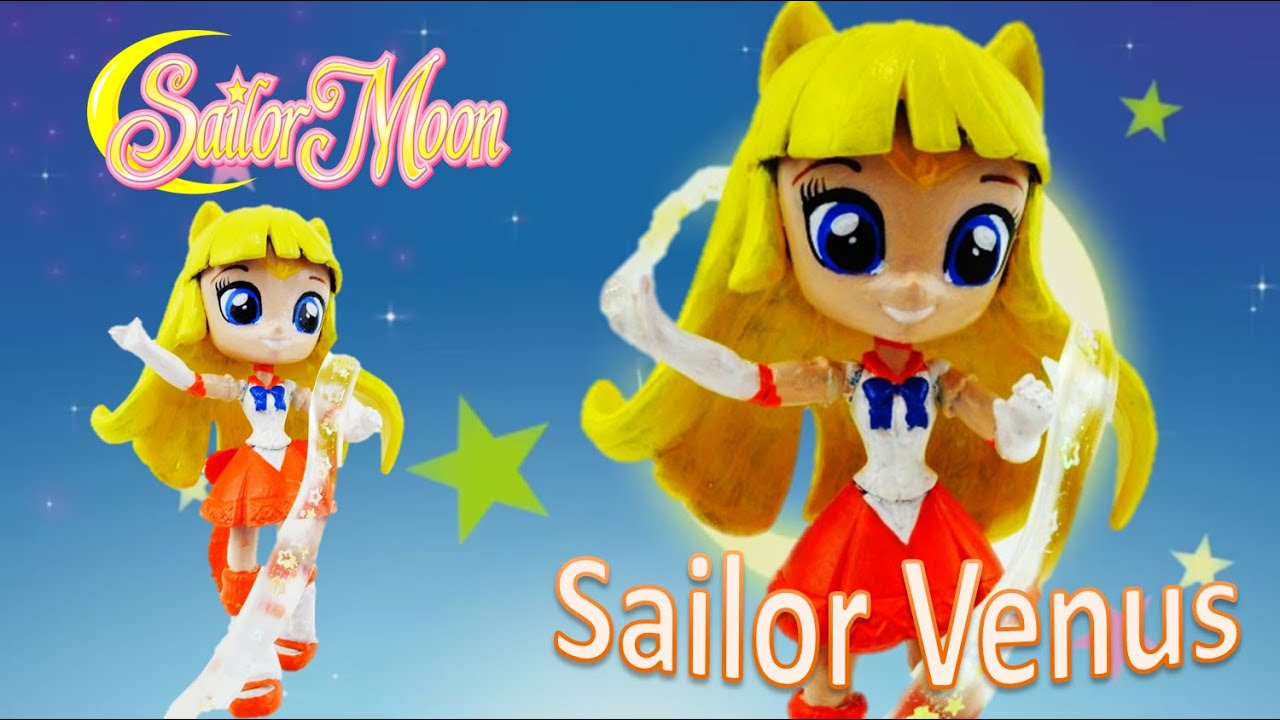 Sailor Venus New Sailor Moon Custom Doll with Twilight Sparkle Tutorial| Evies Toy House