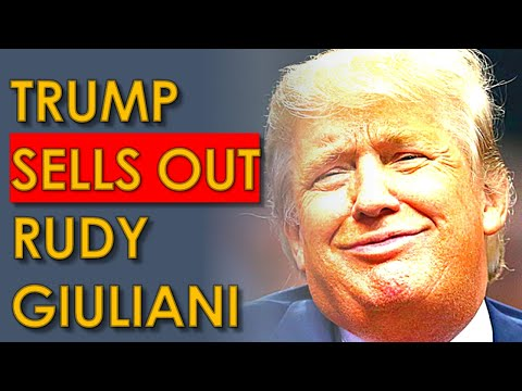 Trump IGNORES Rudy Giuliani BEGGING for Help as Feds Close in on him