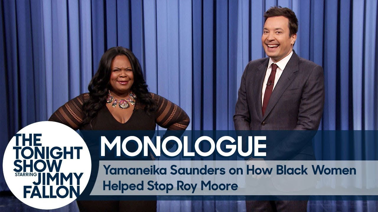 Yamaneika Saunders on How Black Women Helped Stop Roy Moore - Monologue thumbnail