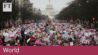 Women send message of defiance