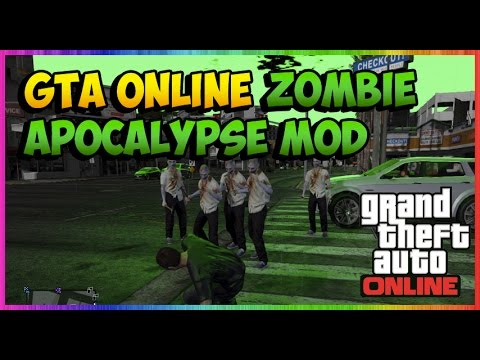 Modders Add A Zombie Apocalypse To GTA Online