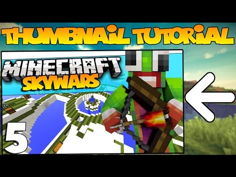 How To Make Advanced Minecraft Thumbnails Easy Tutorial