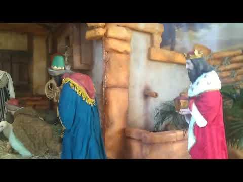 Jesus nasceu! Presépio da Igreja São Benedito em 2019